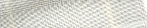 【Mjt_6s47】ライトベージュ×ブルー・グレンチェック+8.5×7cmオレンジ・ブループレイド