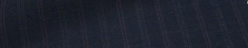 【Msh_6s53】濃紺地+9ミリ巾赤・織り交互ストライプ
