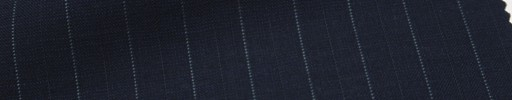 【Msh_6s54】濃紺地+1.3cm巾ブルー・織り交互ストライプ