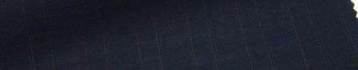 【Msh_6s56】濃紺地+9ミリ巾W織りストライプ