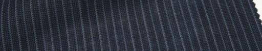 【Msh_6s61】黒紺ピンチェック+7ミリ巾交互ストライプ