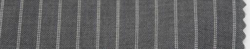 【Cm_6s02】ライトグレー+9ミリ巾Wストライプ