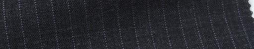【Ib_6s025】チャコールグレー地+5ミリ巾パープルストライプ