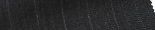 【Ib_6s027】チャコールグレー地+1.5cm巾ストライプ