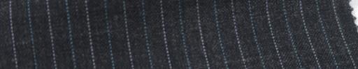 【Ib_6s029】ミディアムグレー地+1cm巾水色・白交互ストライプ