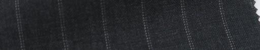 【Ib_6s033】チャコールグレー地+1.3cm巾白ドット・織り交互ストライプ