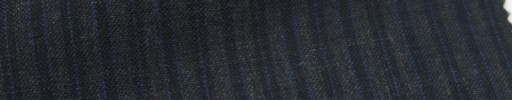 【Ib_6s075】ミディアムグレー+3ミリ巾紺ブルーストライプ