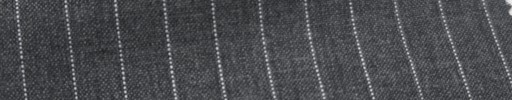 【Ib_6s077】ミディアムグレー地+9ミリ巾白ドットストライプ