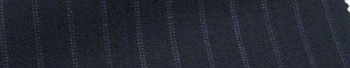 【Ib_6s078】濃紺地+7ミリ巾パープルWドットストライプ