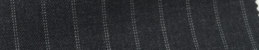 【Ib_6s084】チャコールグレー+1cm巾白Wドットストライプ