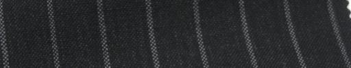 【Ib_6s087】チャコールグレー+1.2cm巾ストライプ