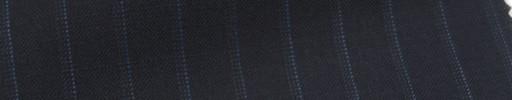 【Ib_6s124】濃紺地+8ミリ巾ブルードットストライプ