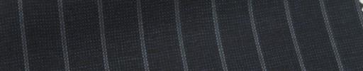 【Ib_6s125】ダークブルーグレーピンチェック+9ミリ巾ストライプ