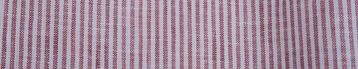 【Ib_linen04】赤×白2ミリ巾ストライプ