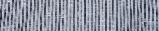 【Ib_linen06】ブルーグレー×白2ミリ巾白ストライプ