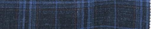 【Lo_6s231】ダークネイビー+6×5cmブルー・茶オルターネートチェック