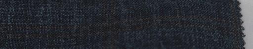 【Lo_6s806】ダークネイビー+5×4.5cmブラウンWプレイド