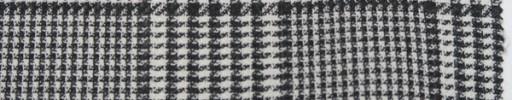 【Lo_6s932】白黒グレンプレイド8.5×7.5cm