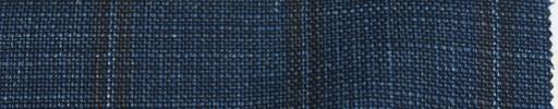 【Lo_6s904】ダークブルー+6×4.8cm茶・ブルーチェック