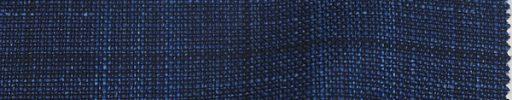 【Lo_s01】ネイビー+6.5×5.5cmブルー・黒チェック