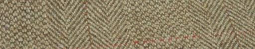 【Hs_gm05】ライトブラウン・ブロークンヘリンボン+8.5×6.5cm赤×茶プレイド