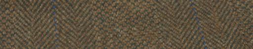 【Hs_gm07】ブラウン・ブロークンヘリンボン+8.5×6.5cmブルー×ピンクプレイド