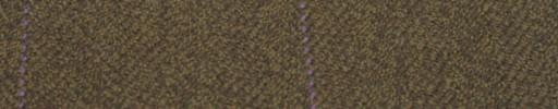 【Hs_gm10】ブラウンミックス1.8cm巾ヘリンボン+9×6cmパープルウィンドウペーン