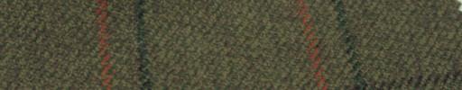 【Hs_gm24】ダークグリーンミックス+7.5×5.5cmファンシープレイド
