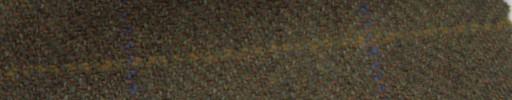 【Ph_gl49】ブラウンオレンジ2cm巾ヘリンボーン6×4.5cmブルー・ブラウンプレイド