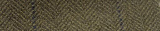 【Ph_gl50】ブラウンベージュ1.6cm巾ヘリンボーン+7×5cmネイビー・サンドプレイド