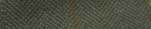【Ph_gl53】グリーンイエロー2cm巾ヘリンボーン+6×4.5cm赤茶・ブラウンプレイド