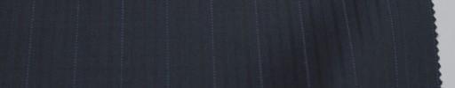 【Re_6w04】ダークネイビー柄+1.4cm巾薄ブルードットストライプ