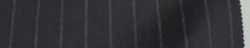 【Re_6w07】黒紺地+1.3cm巾グレー・織り交互ストライプ