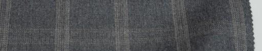 【Re_6w10】ミディアムグレー+4×3cm薄ピンクドットプレイド
