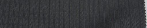 【To_6w16】チャコールグレー7ミリ巾ドット・織り交互ストライプ