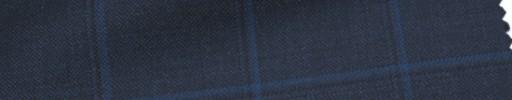 【Ca_6w106】ダークネイビー+4.5×3.5cmブルー・黒プレイド