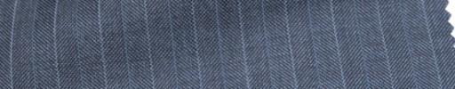 【Ca_6w110】ライトブルーヘリンボーン+1.3cm巾ライトブルー交互ストライプ
