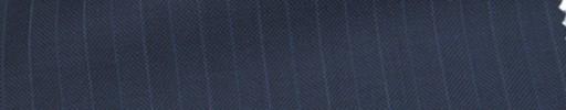 【Ca_6w111】ネイビーヘリンボーン+1.3cm巾ブルー・白交互ストライプ