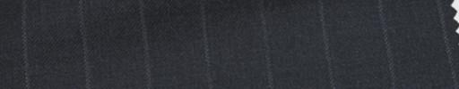 【Ca_6w114】チャコールグレー+1.6cm巾ストライプ