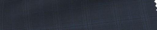 【Ca_6w120】ネイビー+3×2.5cmブルー・織りオーバープレイド