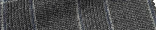 【Ca_6w157】グレーグレンチェック+8×6cm白・ブループレイド