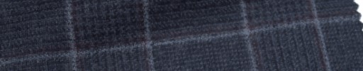 【Ca_6w158】ネイビーグレンチェック+8×6cmライトブルー・エンジプレイド
