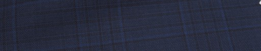 【Ca_6w202】ネイビーファンシープレイド+6.5×5cm黒プレイド