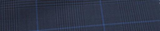 【Ca_6w206】ネイビーグレンチェック+6×5cmブループレイド