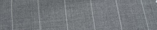 【Ca_6w207】ライトグレー+2.1cm巾白ストライプ