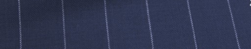 【Ca_6w208】ライトネイビー+2.1cm巾白ストライプ