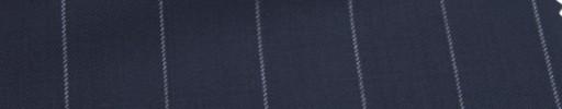 【Ca_6w209】ネイビー+2.1cm巾白ストライプ