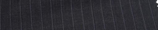 【Ca_6w210】チャコールグレー+1.5cm巾パープル・織り交互ストライプ