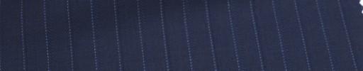 【Ca_6w211】ライトネイビー+1.5cm巾水色・織り交互ストライプ