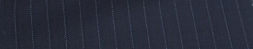 【Ca_6w212】ネイビー+1.5cm巾水色・織り交互ストライプ